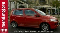 2001 Daihatsu YRV 4Trak Review with Richard Hammond