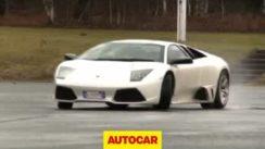 Lamborghini Murcielago Drifting