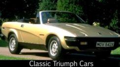 Classic Triumph Cars Video