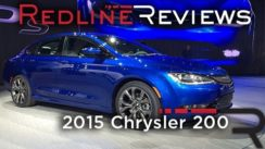 2015 Chrysler 200 at North American International Auto Show