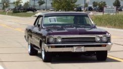 Test Driving 1967 Chevrolet Chevelle Malibu