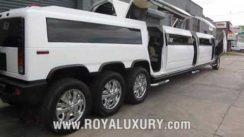 HUGE H2 Hummer Limousine