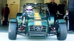 Caterham R600 In Car View