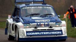 MG Metro 6R4 Rallying Video