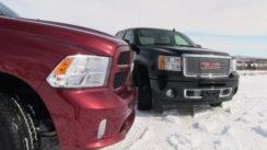 2013 GMC Sierra Denali vs Ram 1500 Pickup Compared