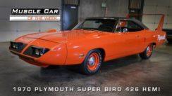 1970 Plymouth Superbird 426 Hemi Muscle Car Video