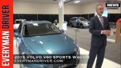 2015 Volvo V60 Sports Wagon Debut