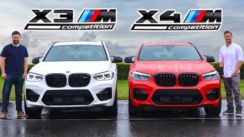 2020 BMW X3M Competition vs X4M Competition