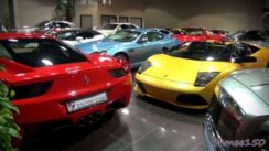 How Many Supercars Can You Squeeze into a Showroom?