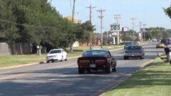 Mustang Car Show Burnouts & Acceleration