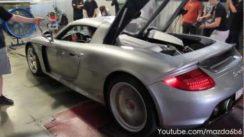 Porsche Carrera GT Dyno Pull