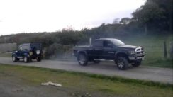 Dodge Ram Cummins vs Land Rover Defender 90