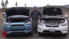 2013 Subaru XV Crosstrek vs Mitsubishi Outlander Sport