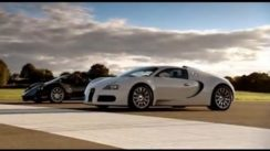 Pagani Zonda F vs Bugatti Veyron