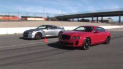 Nissan GT-R vs Bentley Continental SuperSports