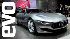 Maserati Alfieri Concept Car at Geneva 2014