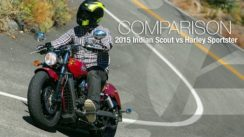 2015 Indian Scout vs Harley Sportster