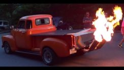 1949 GMC Flame Throwing Pick Up Truck