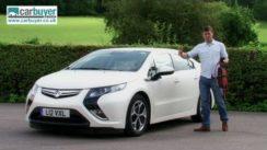 Vauxhall Ampera (Chevrolet Volt) Electric Car Review