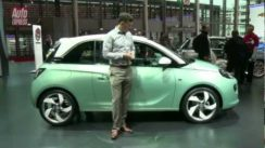 Vauxhall / Opel Adam at the Paris Motor Show