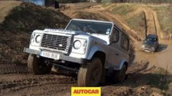 Suzuki Jimny vs Land Rover Defender