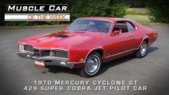 1970 Mercury Cyclone GT 429 Super Cobra Jet Car