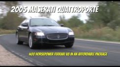Maserati Quattroporte Test Drive Video Review