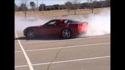 Chevrolet Corvette Burnouts