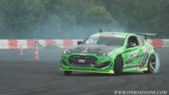 Hyundai Genesis Coupe Drifting Race