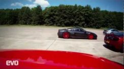 Epic Supercar Drag Race