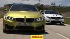 BMW M4 vs Mercedes C63 AMG Challenge