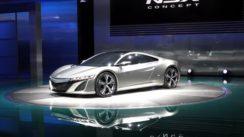 Acura NSX Concept at Detroit Auto Show