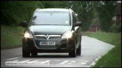 Vauxhall Zafira MPV Review