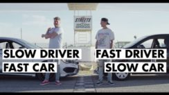 Fast Driver in a Slow Car vs Slow Driver in a Fast Car
