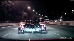 Pagani Zonda Cinque Cruising in Town