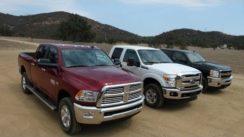 2014 Ram 2500 HD vs Ford F-250 vs Chevy Silverado 2500 0-60 MPH Review