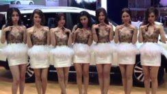 Ssangyong Auto Show Girls