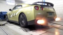 Nissan GT-R Switzer P800 – Dyno Pull with Backfire!