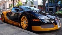 Custom Bugatti Veyron Hypercar in Beverly Hills