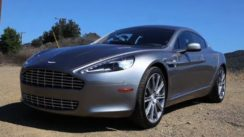 What won't fit in an Aston Martin Rapide?