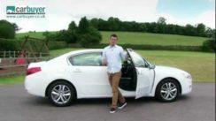 Peugeot 508 Car Review Video