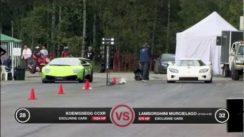 Lamborghini LP670-4 SV vs Koenigsegg CCXR