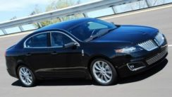 2010 Lincoln MKS with EcoBoost Track Test
