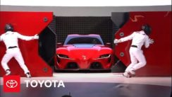 Toyota Reveals FT-1 Concept Car at North American International Auto Show