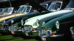 MG Car Club Anniversary Event