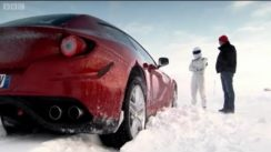 Ferrari FF vs Bentley Continental V8 on Ice!