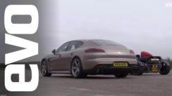Ariel Atom Supercharged vs Porsche Panamera Turbo S