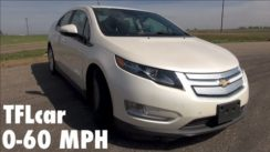 2014 Chevy Volt 0-60 MPH Review