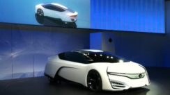 Honda FCEV Concept Car Debut at the LA Auto Show