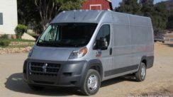 2014 RAM ProMaster Commercial Cargo Van Review & Road Test
